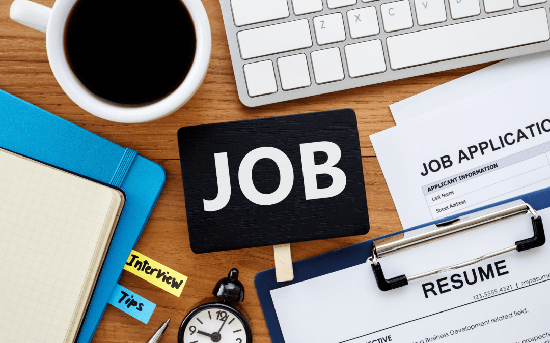5 mistakes people make when job hunting.